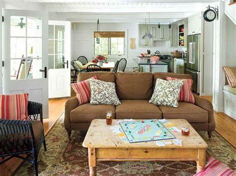 comfortable cottage living room furniture home decor