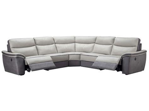 canape angle relaxation canapé d 39 angle relaxation électrique 5 places en cuir