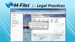 m files legal easy document management for legal With document management system legal