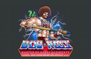 Master Of Happy Accidents Bob Ross Mashup Shirt GeekAlerts