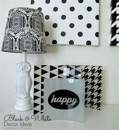 diy room decor ideas  black  white