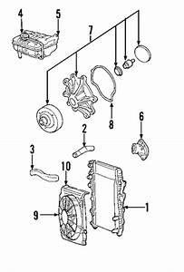 Cooling System For 2003 Jeep Liberty