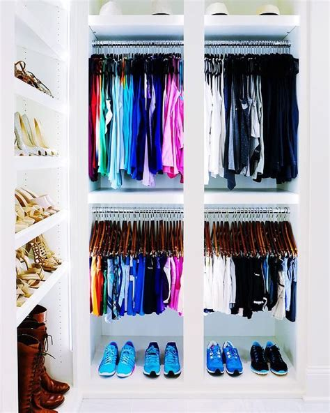 Color Coded Closet by 378 Best Closets Images On