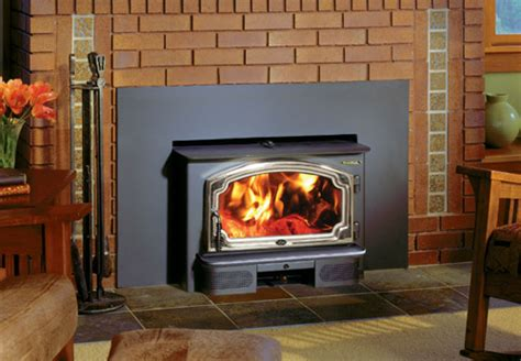 lopi freedom wood insert  fireplace place