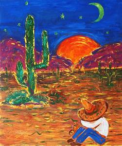 Mexico Impression IIi Painting by Xueling Zou