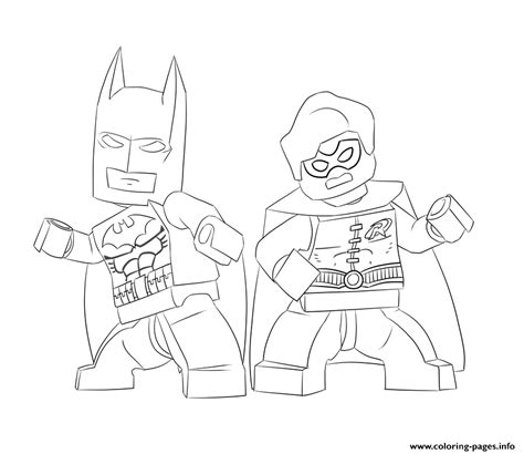 Batman And Robin Coloring Pages Batman And Robin Lego Coloring Pages Printable