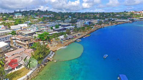 building walkway port vila coastal walkway connection sept 2016