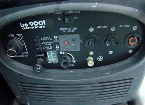 kipor sinemaster inverter generator ig kge  ti