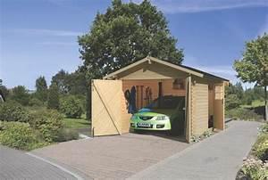 Tür Garage Haus : garage karibu einzel holzgarage 28 mm wandst rke blockbohle seitliche t r holz angebot ~ Sanjose-hotels-ca.com Haus und Dekorationen