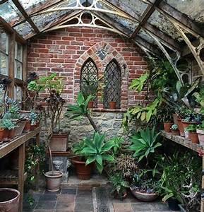 Jardin D Hiver Veranda : la v randa victorienne du charme l 39 ancienne en 50 photos ~ Premium-room.com Idées de Décoration