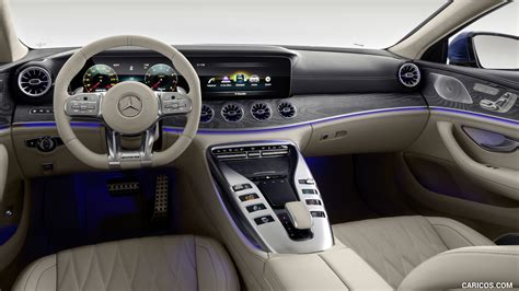 Sensual purity, striking proportions and a voluminous body. 2019 Mercedes-AMG GT 63 S 4MATIC+ 4-Door Coupe - Interior, Cockpit | HD Wallpaper #85