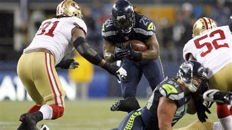 ers  seahawks  san francisco outmuscle marshawn