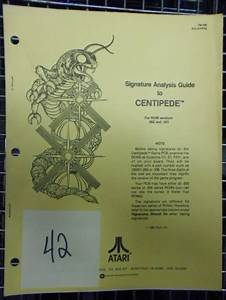 Centipede Arcade Machine Game Signature Analysis Guide