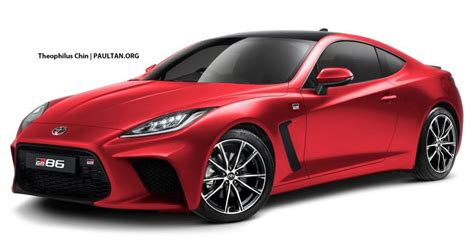 toyota gr rendered  coupe   turbo paul