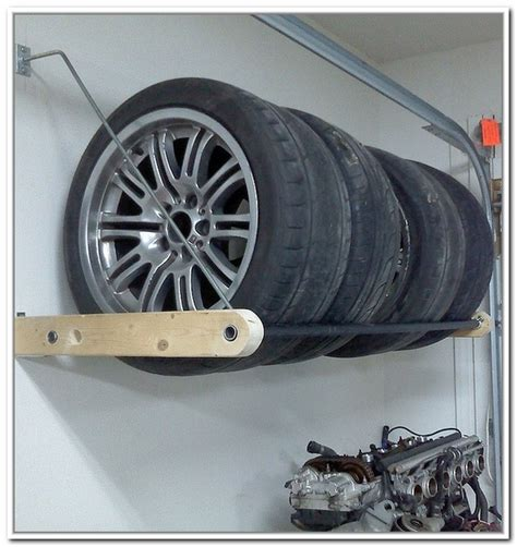tire storage rack plans  storage ideas
