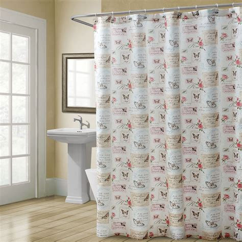 matching shower curtain and towels shower curtain