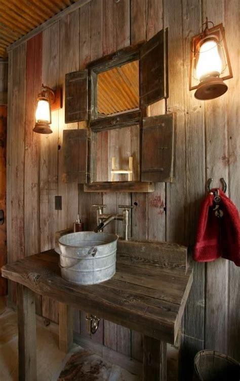 Rustic Bathroom Design Ideas  Home Decoration Live