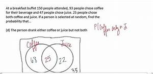 Venn Diagram Probability Notes - Ap Statistics