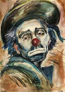 Famous Sad Clown Paintings | www.imgkid.com - The Image ...