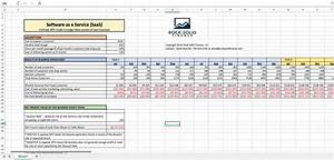 Excel Amortization Saas Excel Financial Model Npv For A Web Business Eloquens