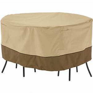 classic accessories veranda patio round bistro table and With garden furniture storage covers