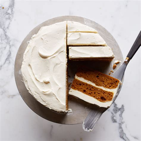 cuisine mascarpone pumpkin layer cake with mascarpone frosting recipe