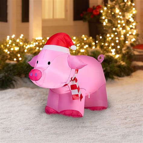 best lighted pig yard art pig yard decorations billingsblessingbags org