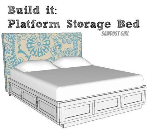 cal king platform storage bed sawdust girl