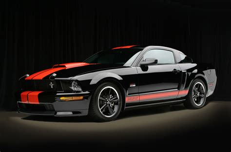 barrett jackson shelby gt  mustang source ford