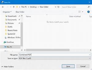 How to merge or combine pdf files for free in windows 10 for Combine documents into pdf