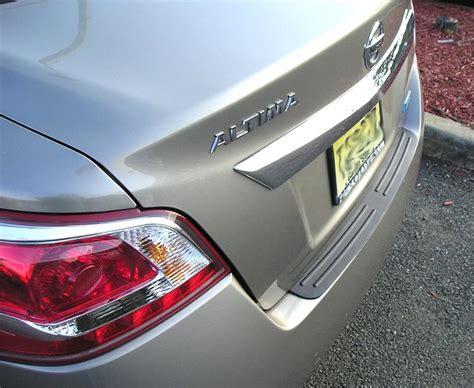 rear bumper protector fits   nissan altima sedan