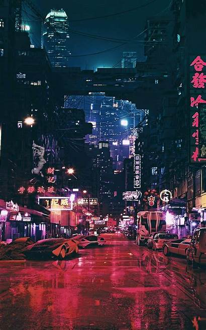 Cyberpunk 4k Wallpapers Futuristic Concept Android Fiction