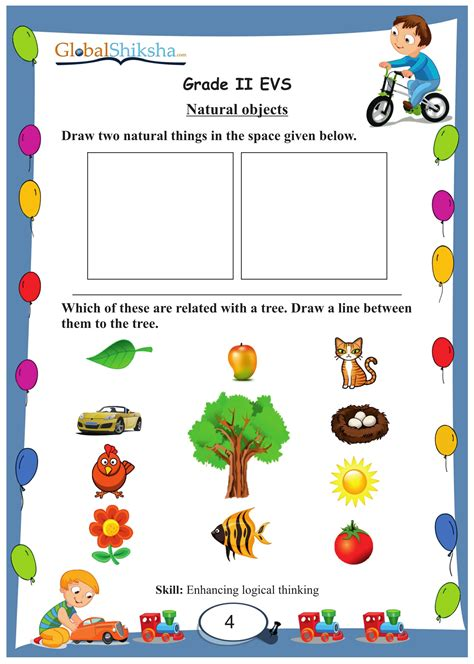 buy worksheets for class 2 environmental science evs