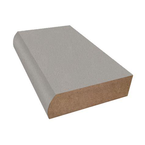 stainless steel countertop edging satin stainless wilsonart laminate bullnose trim linearity 5716