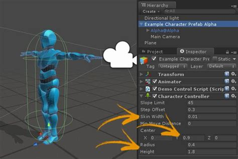 unity mecanim customize character controller