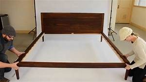 Platform Bed No 1 - Assembly Instructions