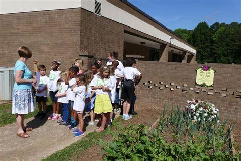 Garden Road Elementary by Memorial Garden Dedicated To Longtime Rock Hill
