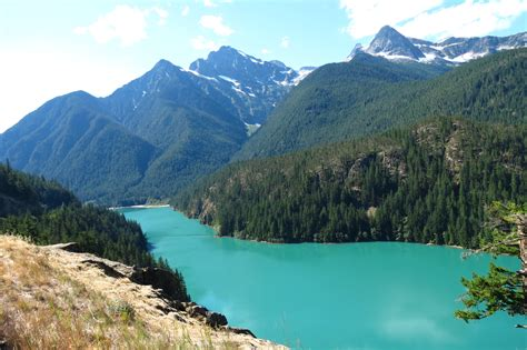 North Cascades Hwy 20: Diablo Lake, Washington Pass, Rainy ...