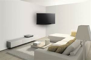comment installer son ecran plat au mur darty vous With meuble tv accroche au mur