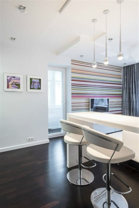 Two Modern Apartments With Perfectly Placed Bursts Of Colors by Two Modern Apartments With Perfectly Placed Bursts Of Colors