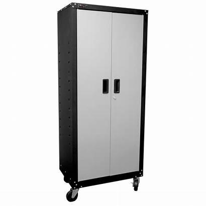 Cabinet Tall Shelves Door Mobile Garage Tool