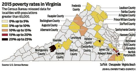 poverty richmond rate rates virginia highest save email print