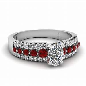 ruby engagement rings fascinating diamonds With ruby and diamond wedding ring