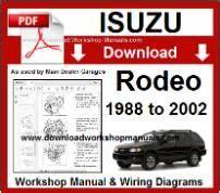Isuzu Workshop Manuals