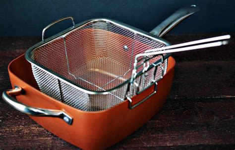 theresas mixed nuts copper chef cookware helps  cook  clutter