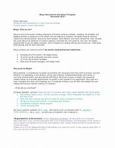 job advert template With job ad templates