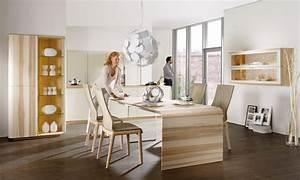 Table Salle A Manger Bois Clair : table de salle manger en bois massif 29 designs modernes ~ Teatrodelosmanantiales.com Idées de Décoration