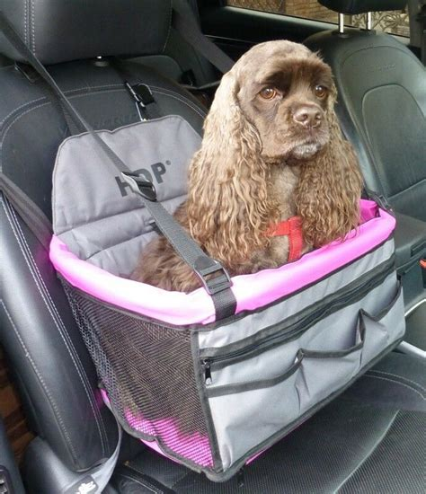 hdp car deluxe lookout dog pet travel booster car seat ebay