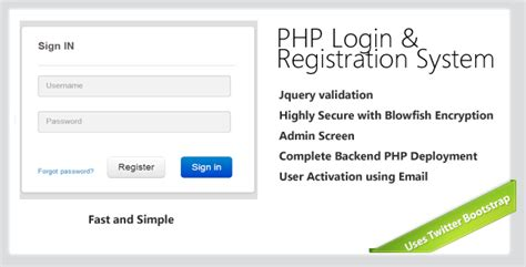 login page in php with database and validation
