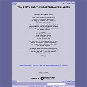 Lyrics thomas29h2000